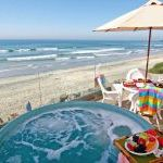 San Diego Beach Rental - Spacious Oceanfront Rental With Rooftop Deck And Spa